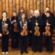 Our 1st violin section!